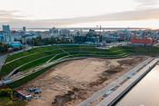 Мегапаркинг под фасадом благоустройства: что построил ТАИФ на площади у НКЦ?