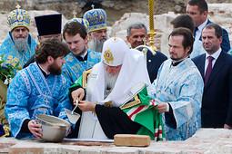 Патриарх Кирилл: «Казань – это город явления Богородицы, она ограждает нас от междоусобиц»