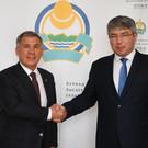 Рустам Минниханов встретился с главой Бурятии Алексеем Цыденовым
