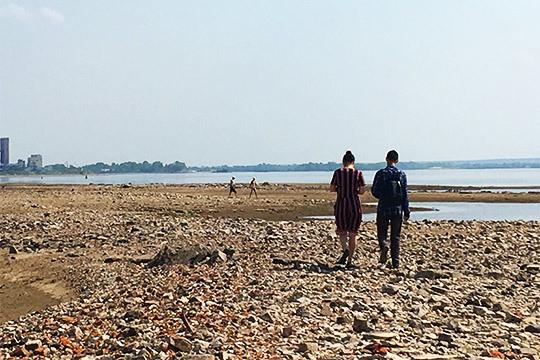 «Можно найти кольца, монеты»: наВолге открылась дорога надревнюю пристань Бакалду