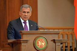 Послание Рустама Минниханова Госсовету Татарстана