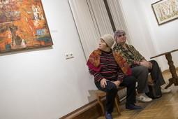В Казани открылась выставка основателя первой в Елабуге художественной школы