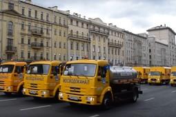 В Москве из-за парада коммунальной техники перекрыли Садовое кольцо