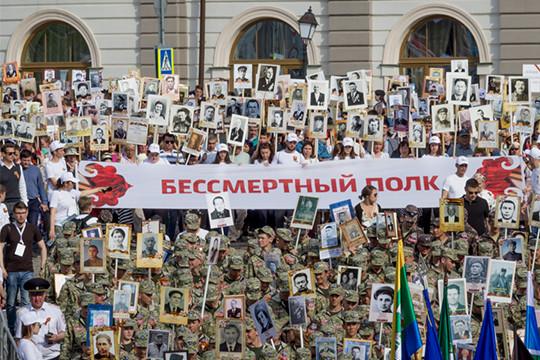 «Бессмертный полк» собрал в Казани около 170 тыс. человек
