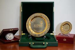 Сувениры из драгоценных металлов, приуроченные к WorldSkills Kazan 2019
