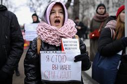 В Москве прошло шествие памяти убитых адвоката Маркелова и журналистки Бабуровой