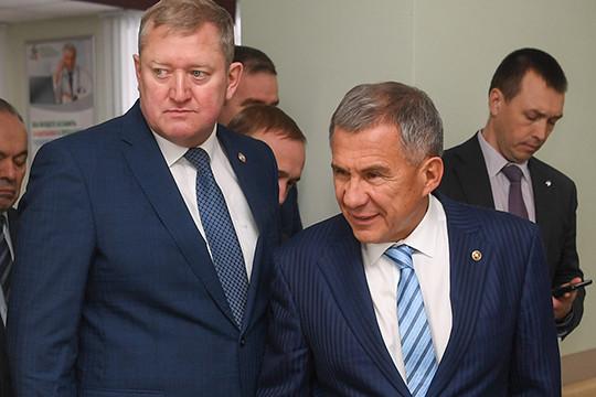 Рустам Минниханов вЗаинске: «Только засчет крупняков благополучия недостигнете»