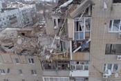 СК опубликовал съемку с квадрокоптера на месте взрыва в городе Шахты