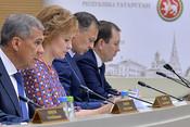 Рустам Минниханов: «Как начинают хулиганить, НДФЛ не выплачивать – это как снежный ком!»