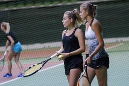 Открытие чемпионата России по теннису