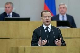 Медведев: «Многим людям трудно. Некоторые просто выживают»