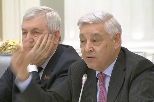 Мухаметшин пожаловался Путину на программу «Пусть говорят»