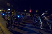 По ночной Казани прокатился велофест