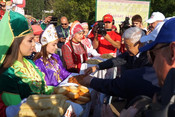 Фарид Мухаметшин посетил кряшенский праздник Питрау