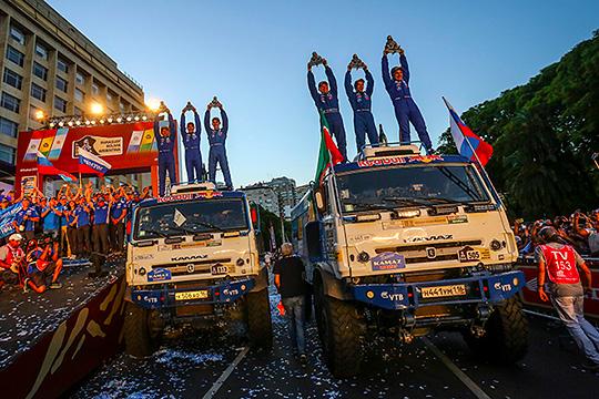 «Дакар-2017»: победный дубль россиян, Маганов-младший– впризах