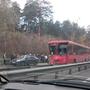 Серьезное ДТП на Горьковском шоссе: иномарка подрезала автобус и съехала в кювет, 10 человек пострадали