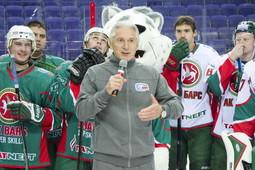 Сегодня ХК «Ак Барс» на льду «Татнефть Арены» представил новичков команды