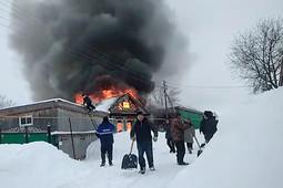 После гибели детей на пожаре в Кукморcком районе объявлен траур