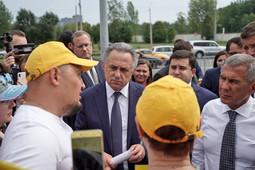 Мутко и Минниханов встретились с обманутыми дольщиками ЖК «МЧС»