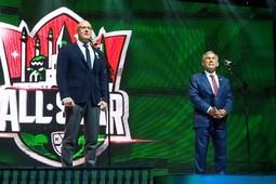 В Казани прошел торжественный прием участников Недели звезд хоккея