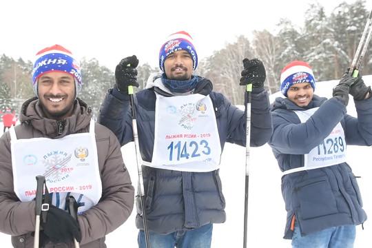 В Казани прошла массовая гонка «Лыжня России – 2019»