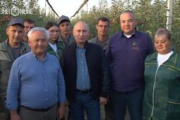 Владимир Путин поздравил аграриев с Днем работника сельского хозяйства