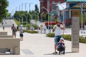 Фоторепортаж «БИЗНЕС Online»: в Казани открыли участок набережной Кабана после реконструкции
