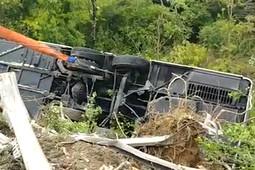 В Италии перевернулся автобус с российскими туристами – есть погибший