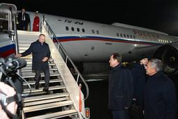 Владимир Путин прилетел на празднование 50-летия КАМАЗа