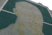 Советская футбольная легенда Нетто: в Казани появится очередной граффити-шедевр