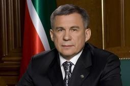 Рустам Минниханов поздравил татарстанцев с Днем республики