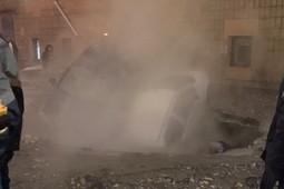 В Петербурге прорвало трубу с кипятком