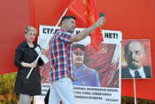 В Челнах провели первый в России крупный пикет против пенсионной реформы