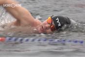 Чемпионат по ледяному плаванию прошел в Мурманске