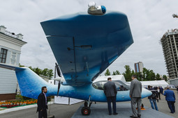 Компания «МВЕН» на выставке в Казани презентовала новый четырехместный самолет «Мурена»