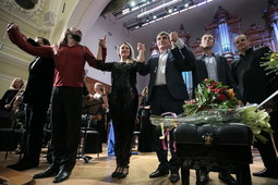 «Симфонические песни»: в Московской консерватории прошел авторский концерт Рашида Калимуллина