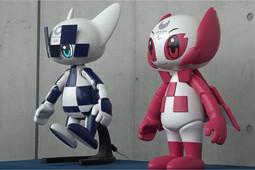 В Токио роботы-талисманы открыли церемонию, посвященную году до Олимпийских игр – 2020