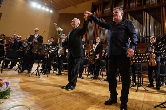 В Челнах на концерте оркестра «Виртуозы Москвы» под управлением Спивакова был аншлаг