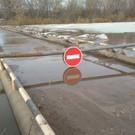 В селе Татарстана подтопило мост на границе с Башкортостаном