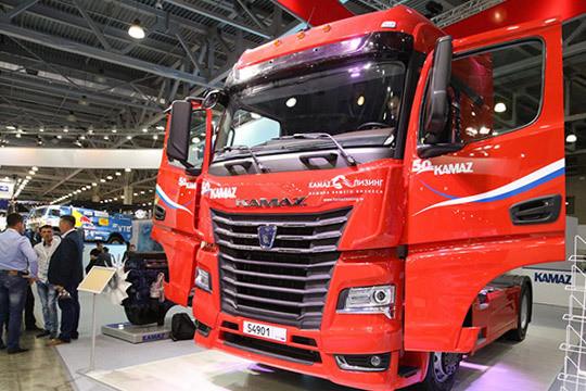 Comtrans 2019: грузовики нагазе, космическая Vera отVolvo ипремиум-модель КАМАЗа