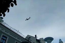В небе над Казанью пролетели самолеты