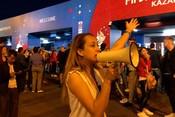 В Казани временно закрыли вход на площадку фан-феста из-за максимальной загрузки