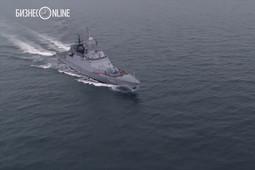 Минобороны показало «торпедную дуэль» кораблей Балтийского флота
