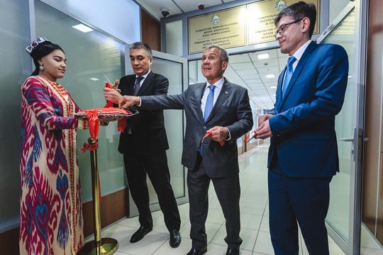 Рустам Минниханов открыл генконсульство Узбекистана в Казани