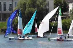 В Казани впервые проходят масштабные парусные гонки