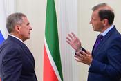 Рустам Минниханов: «Что касается Татарстана, он пока никогда не подводил!»