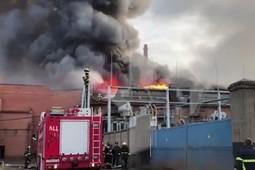 На заводе «Электроцинк» во Владикавказе произошел пожар, погиб один человек