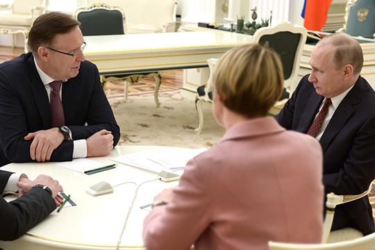 Когогин – Путину: «Вы обозначили технологический рывок... Но он не делается просто так!»