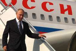 На Казанский авиазавод прибыл Владимир Путин