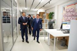 Метшину показали новый экспресс-офис по оказанию госуслуг в Казани